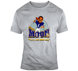 Warren Moon Football Minnesota Distressed Retro Caricature T Shirt