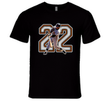 Will Clark San Francisco Baseball Legend Retro Sports T Shirt