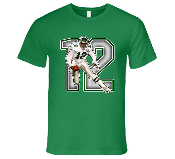 Randall Cunningham Philadelphia Football  Legend Retro Sports T Shirt