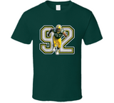 Reggie White Greenbay Legend Retro Football T Shirt