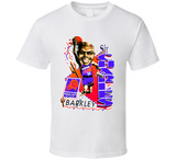 Charles Barkley Phoenix Basketball Retro Caricature T Shirt