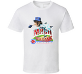 Mitch Williams Wild Thing Chicago Baseball Retro Caricature T Shirt