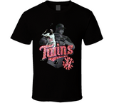 Kirby Puckett Minnesota Legend Retro Baseball T Shirt