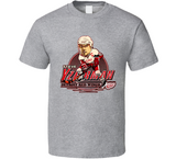 Steve Yzerman Detroit Hockey Retro 19 Caricature T Shirt