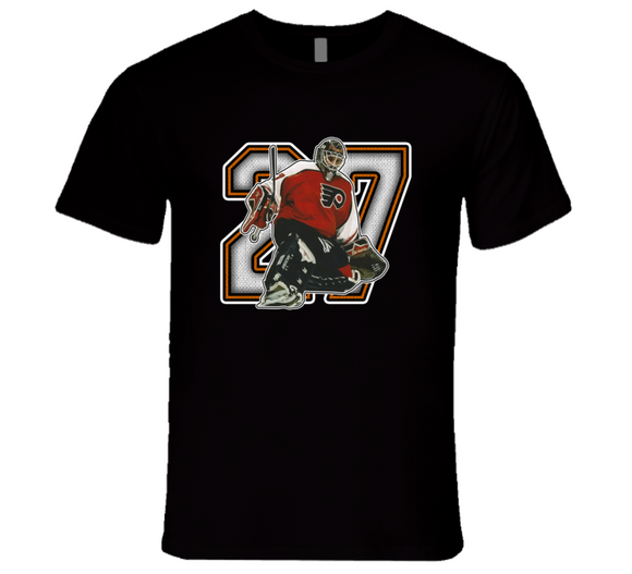 Ron Hextall Philadelphia Legend Retro Sports T Shirt