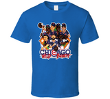 Chicago Wild Bunch Baseball Retro Caricature T Shirt