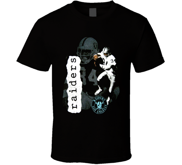 Bo Jackson Los Angeles Retro Football T Shirt