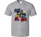 James Buster Douglas Boxing Retro Caricature T Shirt