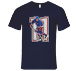 Mark Messier New York Retro Hockey Legend T Shirt