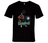 Tony Campbell Minnesota Basketball Retro Sports T Shirt
