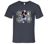 Bo Jackson Oakland Football Legend Retro Sports T Shirt