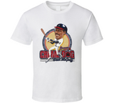 Fred McGriff Crime Dog Atlanta Baseball Retro Caricature T Shirt