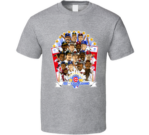 Will Clark Sabo Griffey Baseball All Star Retro Caricature T Shirt