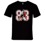 Eric Lindros Philadelphia Hockey Legend Retro Sports  Black T Shirt