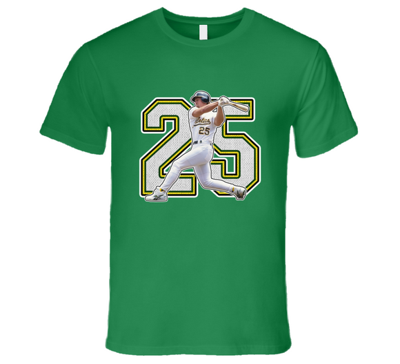 Mark Mcgwire Oakland Legend Retro Baseball T Shirt
