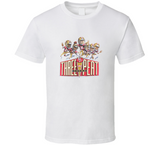 Joe Montana San Francisco 3rd Championship Retro Caricature T Shirt