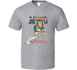 Dan Marino Miami QB Football Retro Caricature T Shirt