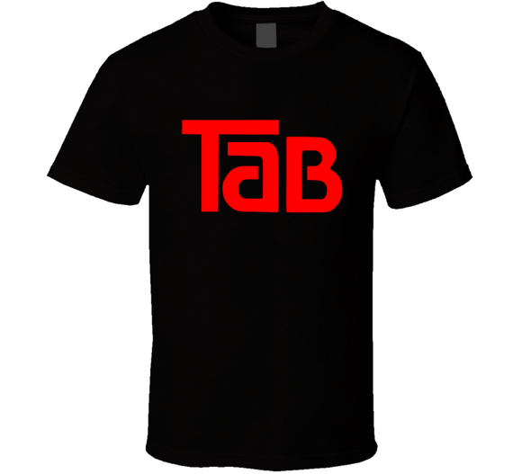 Tab Cola Retro 80's Soft Drink T Shirt