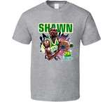 Shawn Kemp Seattle Retro Basketball T Shirt