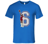 Julius Erving Dr J Philadelphia Retro Basketball Legend T Shirt
