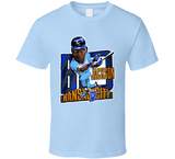 Bo Jackson Kansas City Baseball Retro Caricature T Shirt