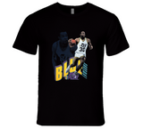 Blue Edwards Utah Basketball Retro Sports T Shirt