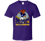 Warren Moon Minnesota Football Retro Caricature T Shirt