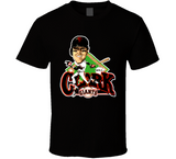 Will Clark 22 San Francisco Baseball Retro Caricature T Shirt