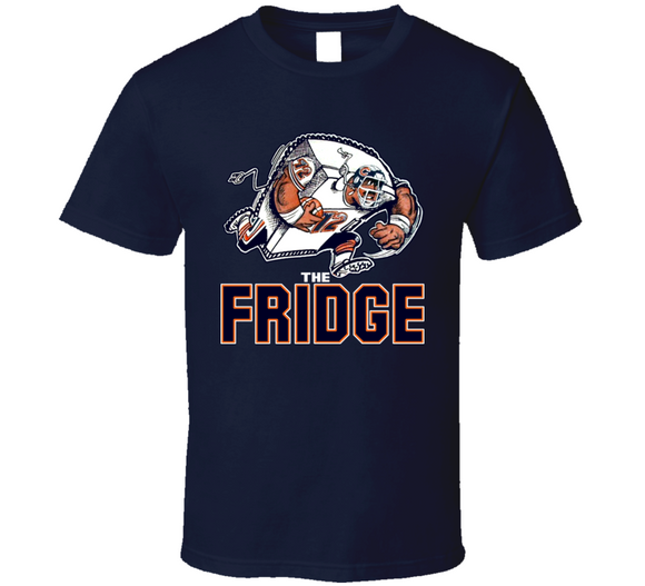 William The Refrigerator Perry Chicago Retro Football T Shirt