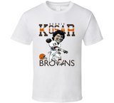 Bernie Kosar Cleveland Football Retro Caricature T Shirt