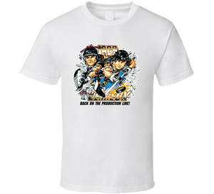 Mario Lemieux Jaromir Jagr Pittsburgh Hockey Retro Caricature T Shirt