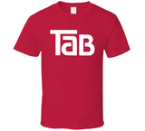 Tab Cola Soft Drink Red T Shirt