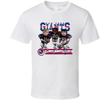 New York Football Retro Caricature T Shirt