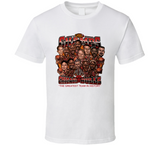 Chicago Basketball 1996 Retro Caricature T Shirt