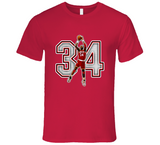 Hakeem Olajuwon Houston Retro Basketball Legend T Shirt