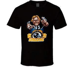Kevin Greene Pittsburgh Football Retro Caricature T Shirt