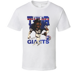 Lawrence Taylor New York Football Retro Caricature T Shirt