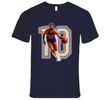 Walt Frazier New York Retro Basketball Legend T Shirt
