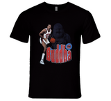 James Buddha Edwards Detroit Basketball Retro Sports T Shirt