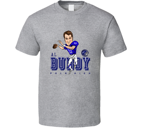 Married With Children Al Bundy Caricature Football T Shirt