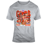 Joe Montana 1989 San Francisco Champs Football Distressed Retro Caricature T Shirt