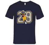 Eric Dickerson Los Angeles Football Legend Retro Sports T Shirt