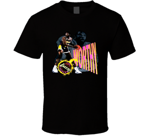 James Worthy Los Angeles Basketball T Shirt