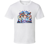1995 Baseball All Star Game Retro Caricature T Shirt