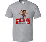 Hot Rod Williams Cleveland Basketball Retro Caricature T Shirt