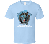 North Carolina Basketball Dream Team Jordan Retro Caricature T Shirt
