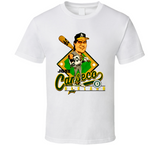 Jose Canseco 40 40 Oakland Baseball Retro Caricature T Shirt