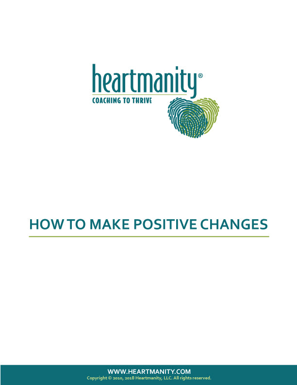 Make Positive Change Skill Card