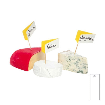 Cheesetags, Set Of 10