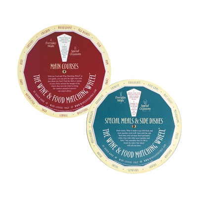 Food & Wine Matching Wheel (Single)